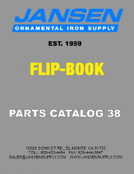 Jansen Supply Flip-Thru Catalog #38