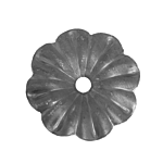 """(C-162)INDTL 116/A/4 STEEL FLWER (2-5/16"""" DIA. X 1/8"""" THICK)"""
