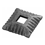 "(C-156) INDTL 1408/1 STEEL SHOE (1-1/32"" SQ. HOLE)"