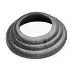 "(C-156) INDTL 1408/6 STEEL SHOE (1-1/4"" RD. HOLE)"