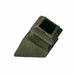 "(C-141)INDTL 1491/1SC ANGLE SHOE **W/SET SCREW** (1/2"" SQ HOLE)"