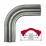 "MALLEABLE IRON ""CORNER BEND (1-15/16"" WIDE) (J.B.4428-C)"
