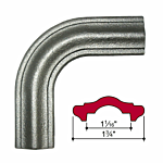 "MALLEABLE IRON ""CORNER BEND (1-3/4"" WIDE) (J.B. 4429-C)"