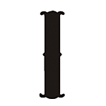 """I"""" STEEL LETTER OLD ENGLISH STYLE-9 1/2"""" HIGH"""