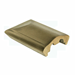 """***BRONZE*** SQUARE END PIECE (2-1/4"""" WIDE) (4530-N)"""