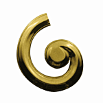 """BRASS """"RIGHT"""" LATERAL (2"""" W)"""