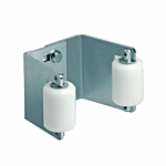 """CANTILEVER GATE UPPER ADJUSTABLE END CUP - FITS SQUARE OR ROUND GATE PROFILES 2""""-3"""""""