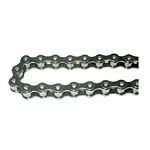 """NICKEL PLATED"""" 10' PACK OF #40 CHAIN W 1 M/L (40NPX10)"""