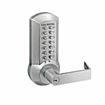 CAL-ROYAL MECHANICAL LOCK WORKS WITH CR2200/9800 SERIES EXIT DEVICES