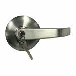 """CAL-ROYAL """"STOREROOM"""" OUTSIDE TRIM/LEVER FOR 2200/9800EO PANIC EXIT DEVICE (SILVER FINISH)"""