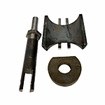 """INCLUDES XL DIE, SADDLE AND RAM TO CUT 2 3/8"""" PIPE. USE WITH HYDRAULIC NOTCHER."""