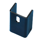 """DAC REDUCTION ADAPTER FOR 1-3/4"""""""" SQ. GATE FRAME (2"""""""" TO 1-3/4"""""""") (BLACK POWDER COAT)"""
