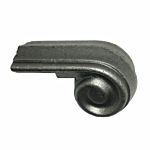 "ECONOMY 2"" WIDE CAST IRON SCROLL HEAD"