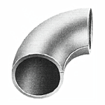 "FORMED TUBING ELBOW - 1-1/2 O.D. - 1-1/2"" INSIDE RADIUS (100/BAG)"