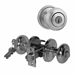 "KWIKSET ULTRA ""ENTRY"" KNOB US 26D (SATIN CHROME) ""HANCOCK"" LIST - $57.00"