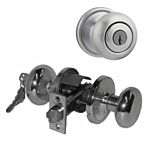 "KWIKSET ULTRA ""STOREROOM"" KNOB US 26D (SATIN CHROME) ""HANCOCK"" LIST -$62.00"