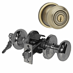 "KWIKSET ULTRA ""STOREROOM"" KNOB US 5 (ANTIQUE) ""HANCOCK"" LIST -$62.00"