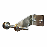 "LOCKEY HEAVY DUTY GATE STOP - 1/4"" THICK 304 S/S"