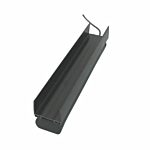 """MILLER EDGE RUBBER FOR CHANNEL (1-7/8"""" W X 5 )"""