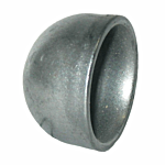 """WELD ON DOMED PIPE END CAP (FITS 1"""" SCH 40 PIPE)"""