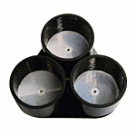"TRIPLE REFLECTOR FOR PHOTOCELL (3"" DIA. X 3)"
