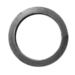 "****1/2"" SQ. SOLID BAR**** STEEL RING - 3 1/2"" O.D."
