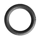 """****1/2"""" RD. SOLID BAR**** STEEL RING - 4"""" O.D."""