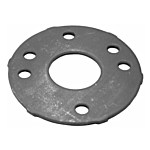 """SNAP COVER BASE PLATE (FITS 1-1/4"""" SCH 40 PIPE)"""