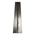 """STEEL CONTINUOUS HINGE (EA) 3.00"""""""" OPEN WIDTH X 72"""""""" L MTL THICKNESS: .074"""
