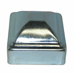 ***ZINC PLATED***PRESSED STEEL POST CAP - 1 (500/BOX)