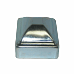 ***ZINC PLATED***PRESSED STEEL POST CAP - 3/4 (500/BOX)