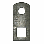 """BOX(S) OF 100 """"LONG CLIP WITH 9/16"""" SQ. HOLE"""