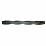 "TWISTED STEEL SQ. SOLID BAR 1"" SQ. X 20"