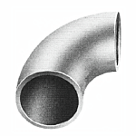 "SEAMLESS TUBING ELBOW - 1-1/2 O.D. - 2-1/2"" CENTER LINE RADIUS (50/BAG)"