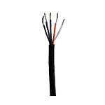 """20 AWG (STRANDED) WIRE - 5 CONDUCTOR IN BLACK JACKET """"FLEXIBLE"""" (SOLD BY THE FOOT)"""